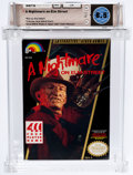 Video Games:Nintendo, A Nightmare on Elm Street (NES, LJN, 1990) Wata 8.5 CIB (Complete in Box)....