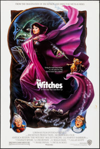 """The Witches (Warner Brothers, 1990) Rolled, Very Fine-. One Sheet (27"""" X 40"""") SS. Fantasy"""