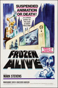 """Movie Posters:Science Fiction, Frozen Alive (Feature Film Corporation of America, 1964) Folded, Fine/Very Fine. One Sheet (27"""" X 41""""). Science Fiction.. ..."""