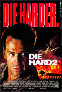 """Die Hard 2 & Other Lot (20th Century Fox, 1990) Rolled, Fine/Very Fine. One Sheets (5) (26.75"""" X 39.75""""..."""