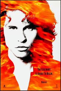 "The Doors (Tri-Star, 1991) Rolled, Very Fine-. One Sheet (27"" X 41"") DS, Advance. Rock and Roll"
