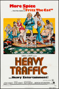 "Movie Posters:Animation, Heavy Traffic & Other Lot (American International, 1973)Folded, Very Fine-. One Sheets (2) (26.75"" X 40.75"" & 27"" X41""). A... (Total: 2 Items)"