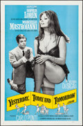 """Movie Posters:Foreign, Yesterday, Today and Tomorrow (Embassy, 1964) Folded, Very Fine-. One Sheet (27"""" X 41""""). Foreign...."""
