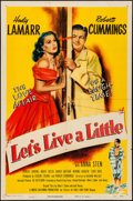 "Movie Posters:Comedy, Let's Live a Little (Eagle Lion, 1948) Folded, Fine/Very Fine. One Sheet (27"" X 41""). Comedy...."