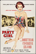 """Movie Posters:Film Noir, Party Girl (MGM, 1958) Folded, Very Fine-. One Sheet (27"""" X 41""""). Film Noir...."""