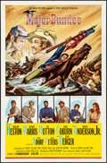 "Movie Posters:Western, Major Dundee & Other Lot (Columbia, 1965) Folded, Overall: Very Fine-. One Sheets (2) (27"" X 41""). Gustav Rehberger Artwork.... (Total: 2 Items)"