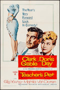 "Movie Posters:Romance, Teacher's Pet (Paramount, 1958) Folded, Fine/Very Fine. One Sheet (27"" X 41""). Romance...."