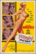 "Movie Posters:Sexploitation, Playgirl After Dark (Topaz, 1961) Folded, Fine/Very Fine. One Sheet(27"" X 41""). Sexploitation...."