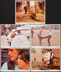 """Movie Posters:Western, Butch Cassidy and the Sundance Kid (20th Century Fox, 1969) Very Fine/Near Mint. Lobby Cards (5) (11"""" X 14""""). Western.... (Total: 5 Items)"""