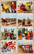 """Movie Posters:Western, Rodeo King and the Senorita (Republic, 1951) Very Fine. Lobby Card Set of 8 (11"""" X 14""""). Western.... (Total: 8 Items)"""