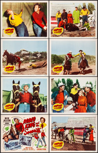 "Rodeo King and the Senorita (Republic, 1951) Very Fine. Lobby Card Set of 8 (11"" X 14""). Western.... (Total: 8..."