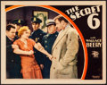 """Movie Posters:Crime, The Secret Six (MGM, 1931) Very Fine-. Lobby Card (11"""" X 14""""). Crime...."""
