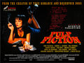 """Movie Posters:Crime, Pulp Fiction (Miramax, 1994) Rolled, Very Fine-. British Quad (30"""" X 40"""") DS. Crime...."""