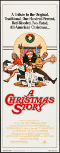 "Movie Posters:Comedy, A Christmas Story (MGM, 1983) Rolled, Very Fine/Near Mint. Insert (14"" X 36""). Robert Tanenbaum Artwork. Comedy...."