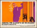 "Movie Posters:Crime, Bullitt (Warner Brothers, 1968) Very Good/Fine on Cardstock. Half Sheet (22"" X 28""). Crime...."