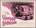 "Movie Posters:Horror, The Vampire and the Ballerina & Other Lot (United Artists, 1962). Overall: Fine/Very Fine. Half Sheets (2) (22"" X 28""). Horr... (Total: 2 Items)"