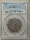 1786 CONNCT Connecticut Copper, Mailed Bust Left VF25 PCGS. PCGS Population: (6/37). NGC Census: (1/43). ...(PCGS# 331)
