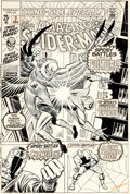 Original Comic Art:Covers, John Romita Sr. Amazing Spider-Man Annual #7 Cover OriginalArt (Marvel, 1970)....