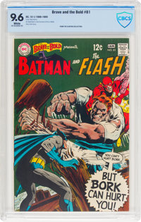 The Brave and the Bold #81 Batman and The Flash (DC, 1969) CBCS NM+ 9.6 White pages