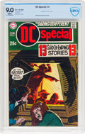 Silver Age (1956-1969):Horror, DC Special #4 (DC, 1969) CBCS VF/NM 9.0 White pages....