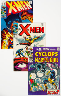 X-Men Group of 7 (Marvel, 1968-69) Condition: Average FN/VF.... (Total: 7 )