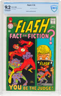 Silver Age (1956-1969):Superhero, The Flash #179 (DC, 1968) CBCS NM- 9.2 Off-white to white pages....