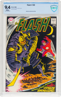 The Flash #180 (DC, 1968) CBCS NM 9.4 White pages