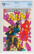 Silver Age (1956-1969):Superhero, The Flash #181 (DC, 1968) CBCS NM+ 9.6 White pages....