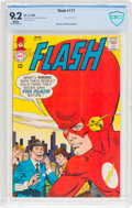 Silver Age (1956-1969):Superhero, The Flash #177 (DC, 1968) CBCS NM- 9.2 White pages....