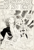 Original Comic Art:Splash Pages, Don Heck Tales to Astonish #12 Splash Page 1 Original Art (Marvel, 1960)....