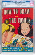 Golden Age (1938-1955):Miscellaneous, How To Draw for The Comics #nn (Street & Smith, 1942) CGC FN- 5.5 Off-white to white pages....