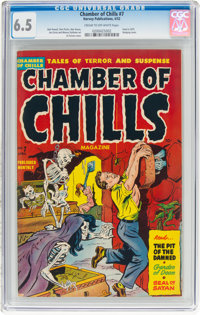 Chamber of Chills #7 (Harvey, 1952) CGC FN+ 6.5 Cream to off-white pages