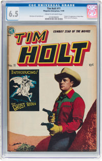 Tim Holt #11 (Magazine Enterprises, 1949) CGC FN+ 6.5 Cream to off-white pages