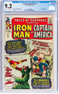 Silver Age (1956-1969):Superhero, Tales of Suspense #61 (Marvel, 1965) CGC NM- 9.2 Off-white to white pages....