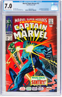 Marvel Super-Heroes #13 (Marvel, 1968) CGC FN/VF 7.0 Off-white to white pages
