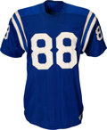 Football Collectibles:Uniforms, Early 1960's John Mackey Game Worn Baltimore Colts Rookie Jersey....
