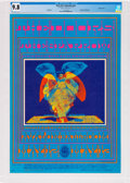 Music Memorabilia:Posters, The Doors Avalon Ballroom Concert Poster FD-61 Signed by VictorMoscoso CGC 9.8 (Family Dog Productions, 1967). ...