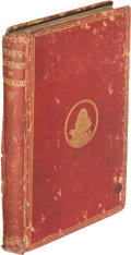 Books:Children''s Books, Lewis Carroll. Alice's Adventures in Wonderland. London: Macmillan, 1874. First edition, later printing (forty-secon...