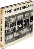 Books:Photography, [Robert Frank, photographer]. The Americans. Introduction by Jack Kerouac. New York: Grove Press, [1959]. First U. S...
