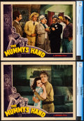 """Movie Posters:Horror, The Mummy's Hand (Universal, 1940). Near Mint-. CGC Graded Lobby Cards (2) (11"""" X 14"""").. ... (Total: 2 Items)"""