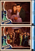 """Movie Posters:Horror, House of Dracula (Universal, 1945). Near Mint/Mint. CGC Graded Lobby Cards (2) (11"""" X 14"""").. ... (Total: 2 Items)"""