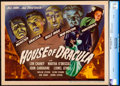 """Movie Posters:Horror, House of Dracula (Universal, 1945). Near Mint.+ CGC Graded Title Lobby Card (11"""" X 14"""").. ..."""