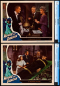 """Movie Posters:Horror, House of Dracula (Universal, 1945). Near Mint/Mint. CGC Lobby Cards (2) (11"""" X 14"""").. ... (Total: 2 Items)"""