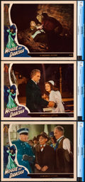 """Movie Posters:Horror, House of Dracula (Universal, 1945). Near Mint+. CGC Graded Lobby Cards (3) (11"""" X 14"""").. ... (Total: 3 Items)"""