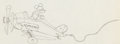 Animation Art:Production Drawing, The Mail Pilot Mickey Mouse Animation Drawing (Walt Disney, 1933)....