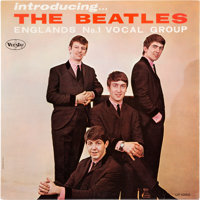 Beatles Introducing . . . The Beatles Ad-back Viny Mono Love Me Do First Press LP (Vee-Jay