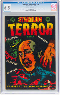 Startling Terror Tales #14 (Star Publications, 1953) CGC FN+ 6.5 Cream to off-white pages