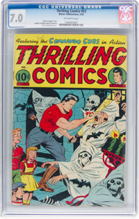 Thrilling Comics #52 (Better Publications, 1946) CGC FN/VF 7.0 Off-white pages