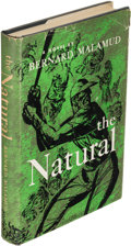 Books:Literature 1900-up, Bernard Malamud. The Natural. New York: [1952]. First edition, leaf with the author's signature inserted....
