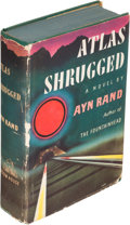Books:Literature 1900-up, Ayn Rand. Atlas Shrugged. New York: [1957]. Firstedition....